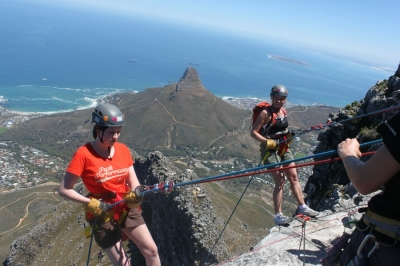 Abseil from Table Mountain